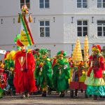 See a lot of red & green during the Dutch winter festival in Limburg