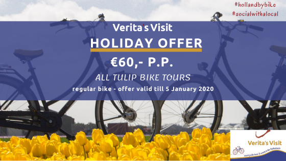 tulip bike tour is the best holiday present