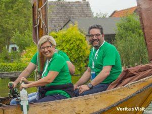 team event boat race Gouda Holland Verita's Visit