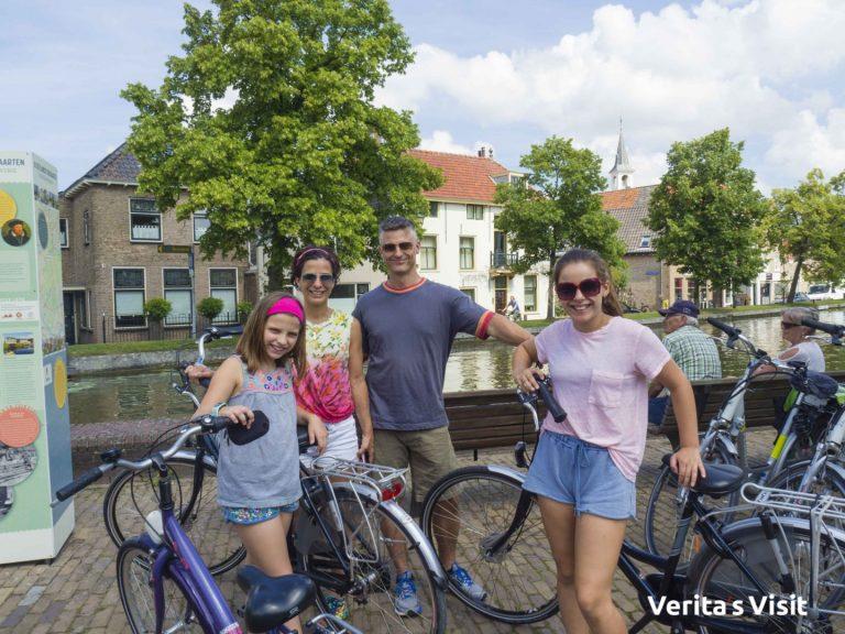 fietstocht Delft blauw