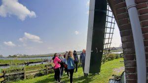 Windmill tour Keukenhof area spring fall summer molen rondleiding Bollenstreek teambuilding Verita's Visit