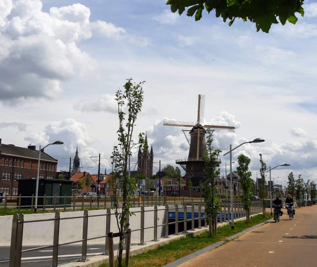 flour windmill Delft bike tour molentocht fiets groepsuitje Verita's Visit