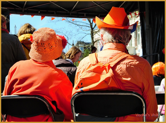 King's Day local event  Verita's Visit Koningsdag activiteit family friends company