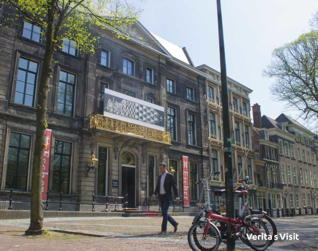 Bike route royal the Hague koninklijk den haag route fiets Verita's Visit