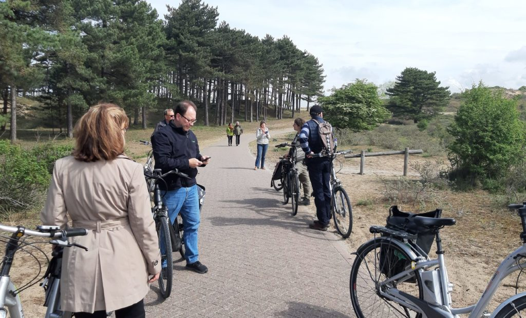 Duinenfietstocht Amsterdam Den Haag North Sea coastal bike tour Verita's Visit