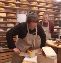 Kaas proeverij & workshop stroopwafel bakken Verita's Visit Holland