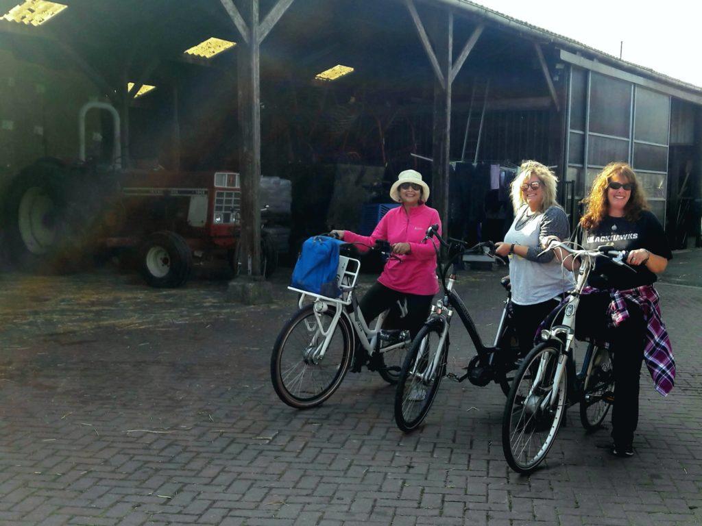 Farm visit ladies tour vrouwendag boerderij bezoek Verita's Visit