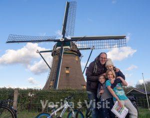 3h Bike tour Leiden lake & windmills molen meer fietstochtVerita's Visit Holland