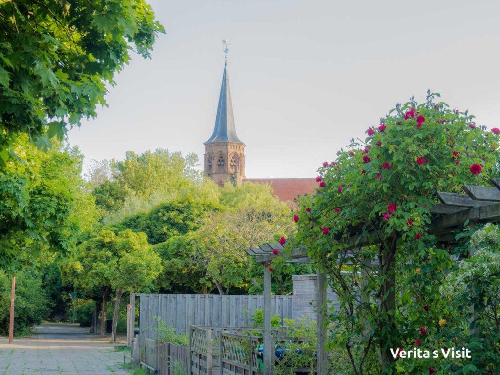 Abdijkerk Den Haag Abbey church bike tour Holland Verita's Visit fietstocht op maat