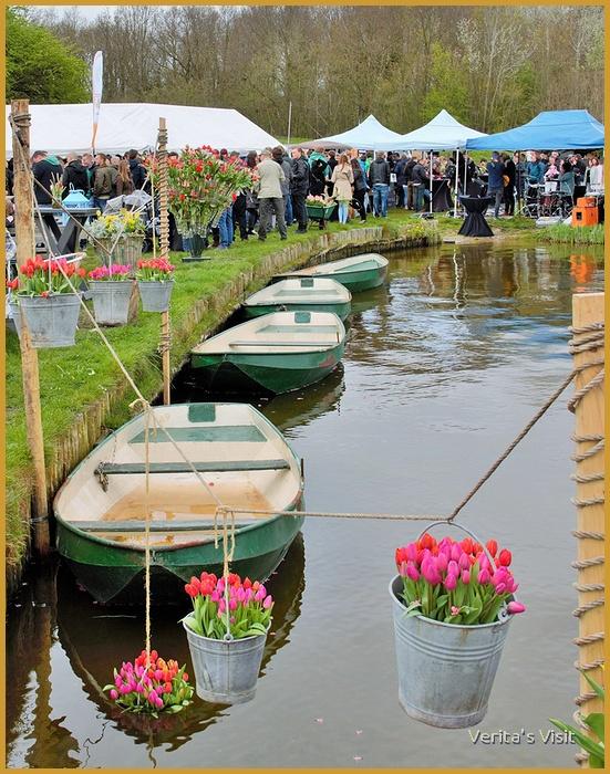 Beer tulip lake festival Netherlands veritasvisit