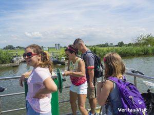 DIY bike ferry Delft Verita's Visit