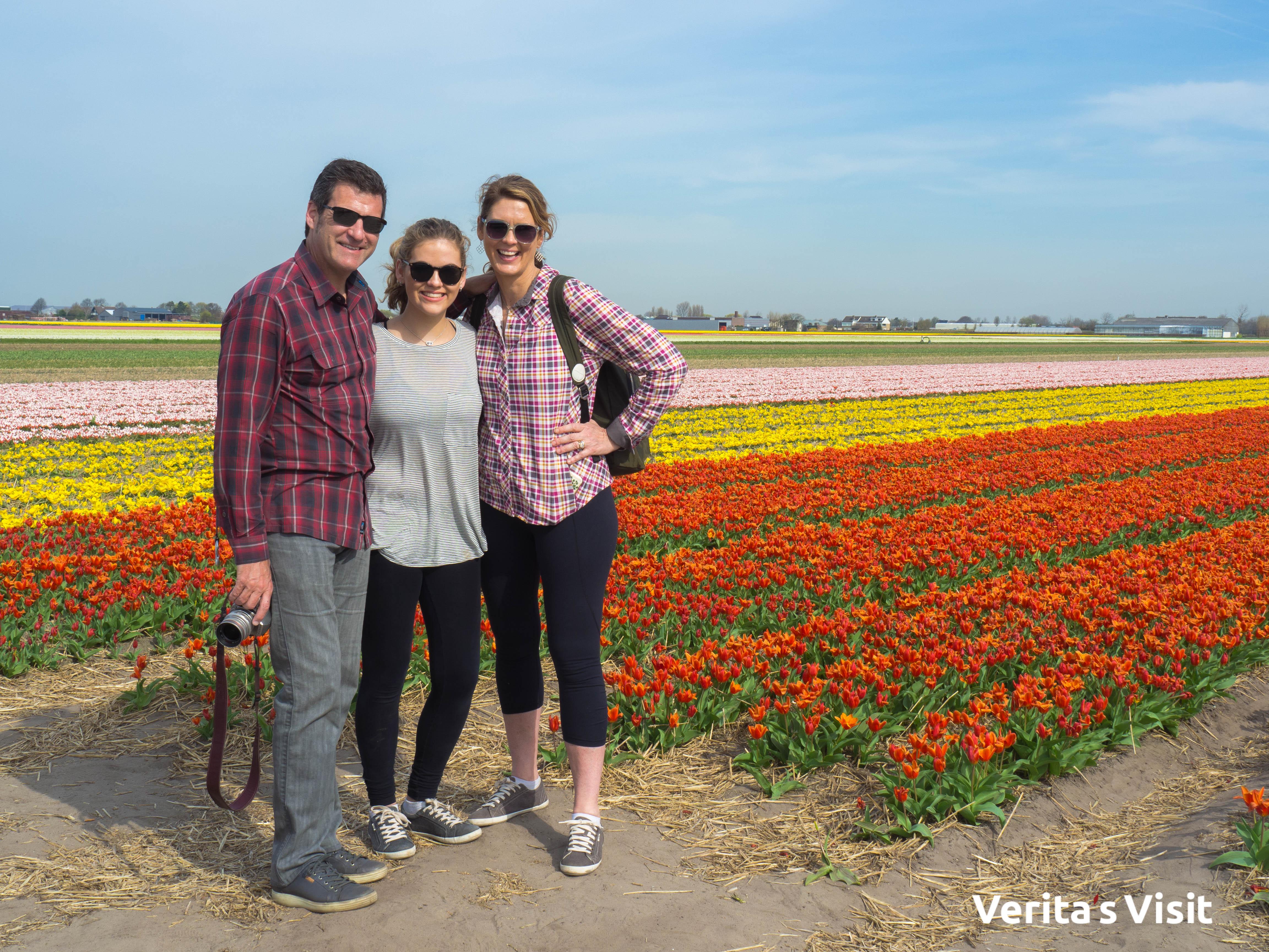 power flower leiden-keukenhof bike tour guide Verita's Visit