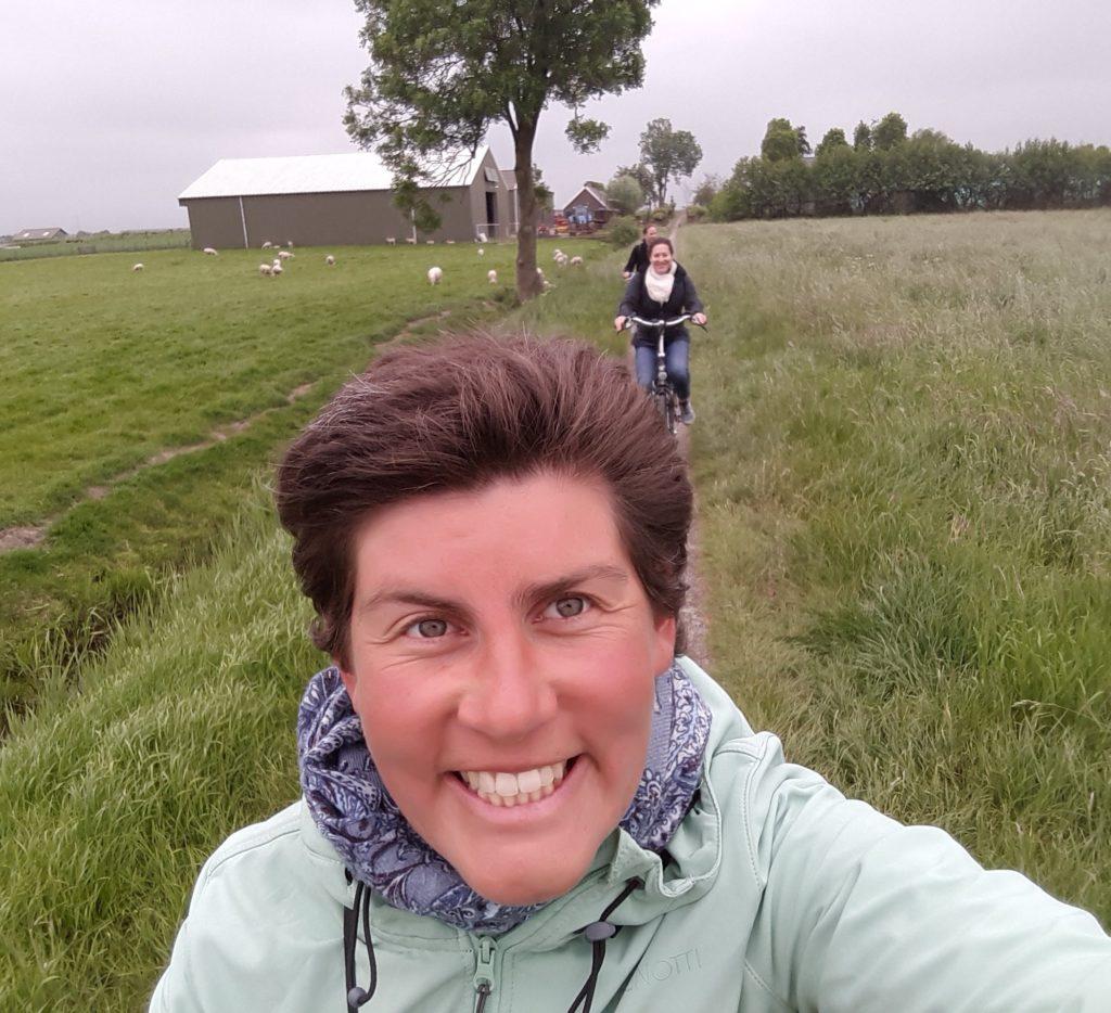 Cycling Dutch countryside Verita's Visit Bike Tour