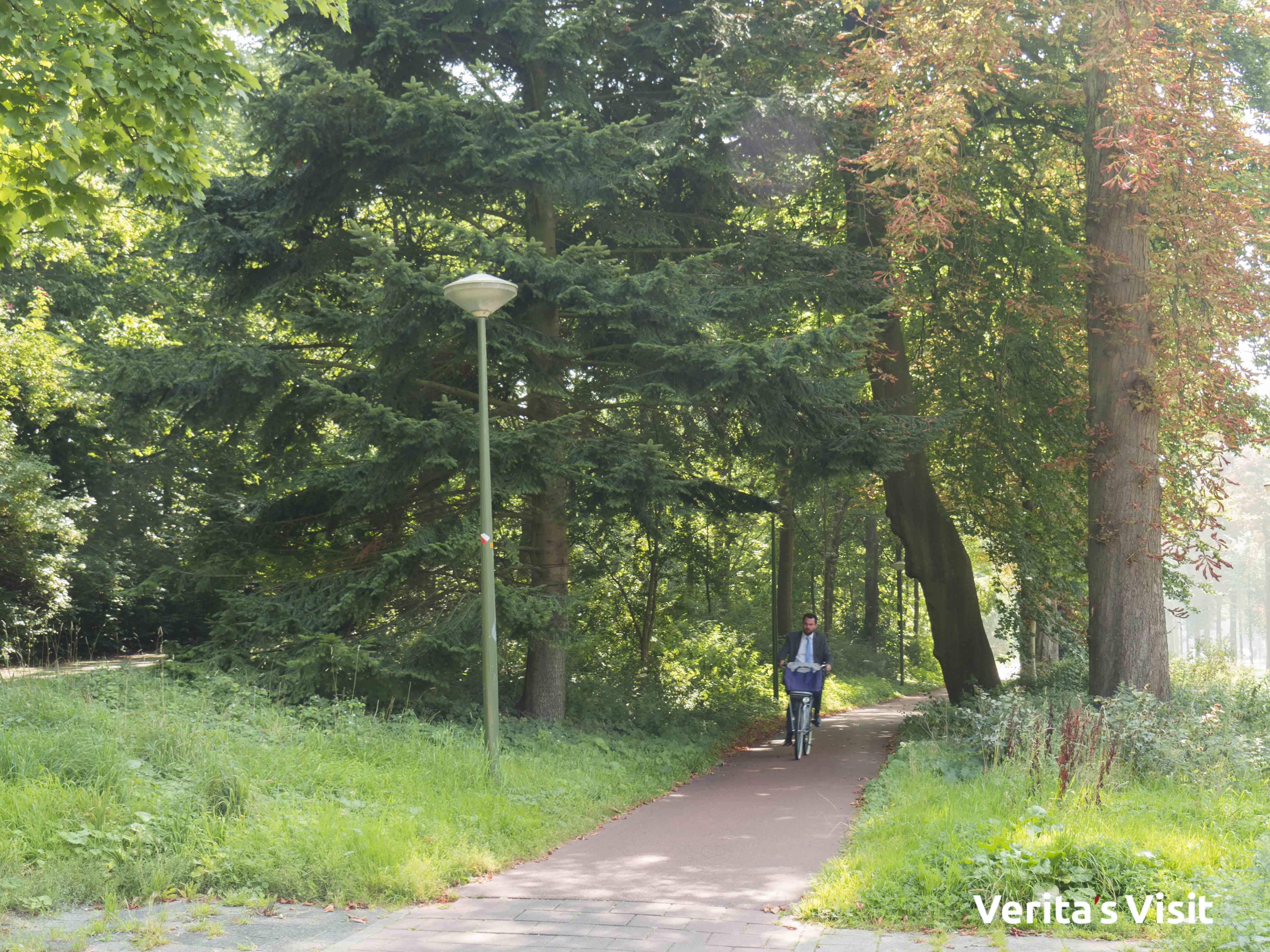 Cycling Verita's Visit Hague nature Haag natuur fietstocht