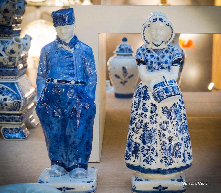 Delft blue tour Verita's Visit Delft blauw activiteit
