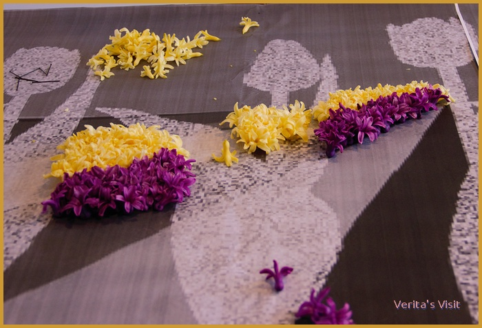 Make your own flower mosaic workshop Verita's Visit typical Dutch activities with your -grand- children