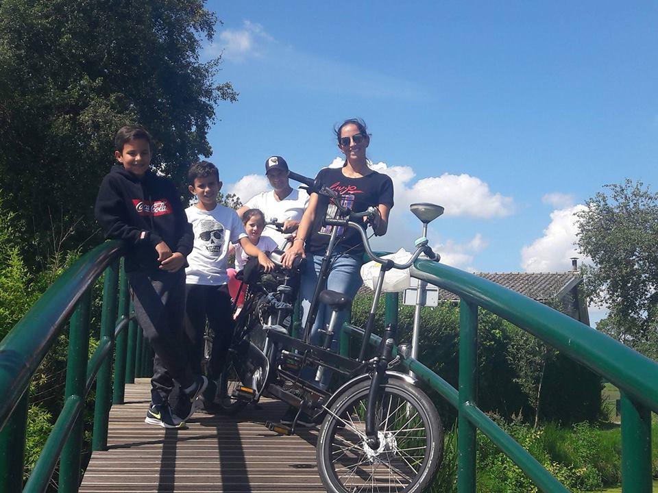 familie fietstocht Leiden met gids Verita's Visit family bike tour