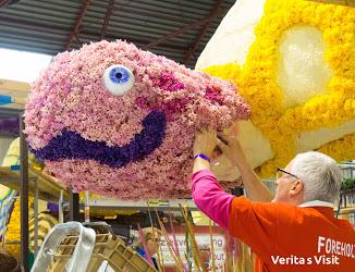 Flower parade special behind scenes tour achter de schermen Bloemencorso dagje uit Verita's Visit