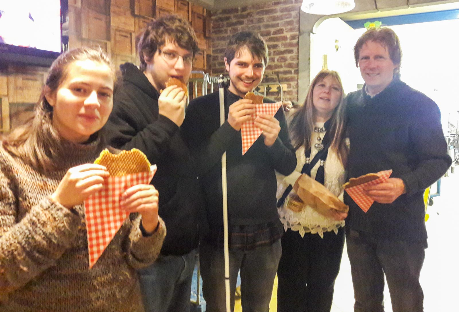 stroopwafel workshop bak Verita's Visit typical Dutch cookie