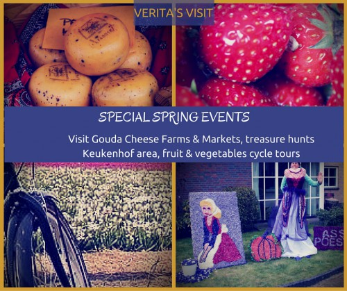 Verita's Visit Special spring Events in the Netherlands
