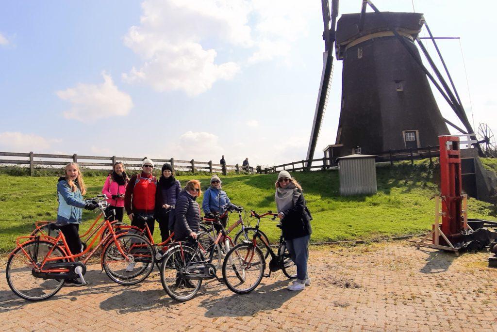 Windmill bike tour fietstocht Keukenhof omgeving area teambuilding Verita's Visit