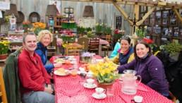 Verita's Visit tulip tour arrangementactivity friends family