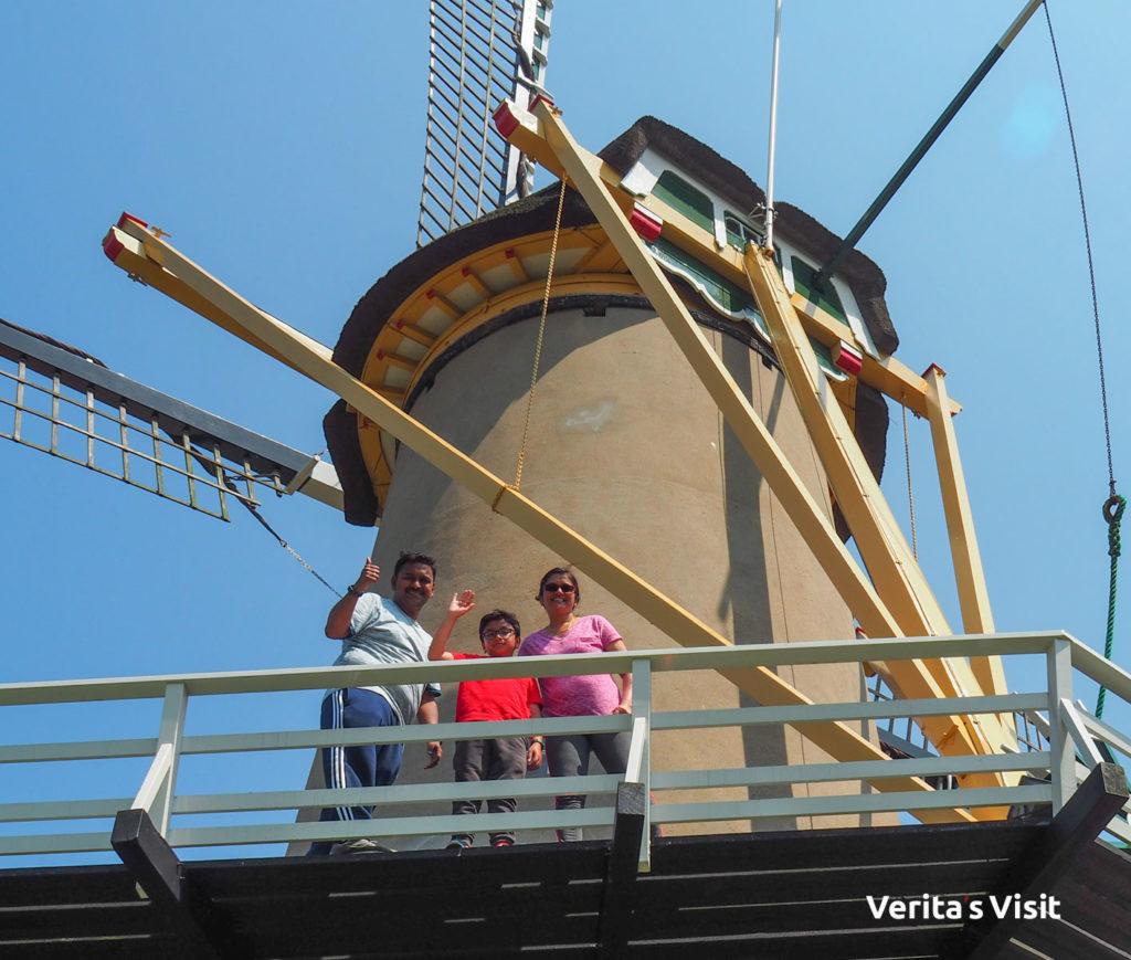 Windmill guided Hague bike tour Verita's Visit fietstocht rondleiding molen Den Haag