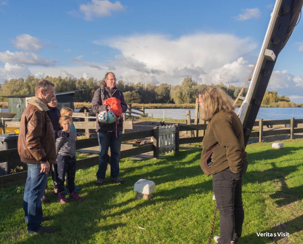Verita's Visit rondleiding molen