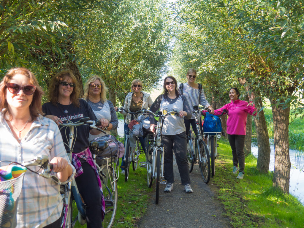 Women's bike tour Vrouwendag fietstocht Verita's Visit