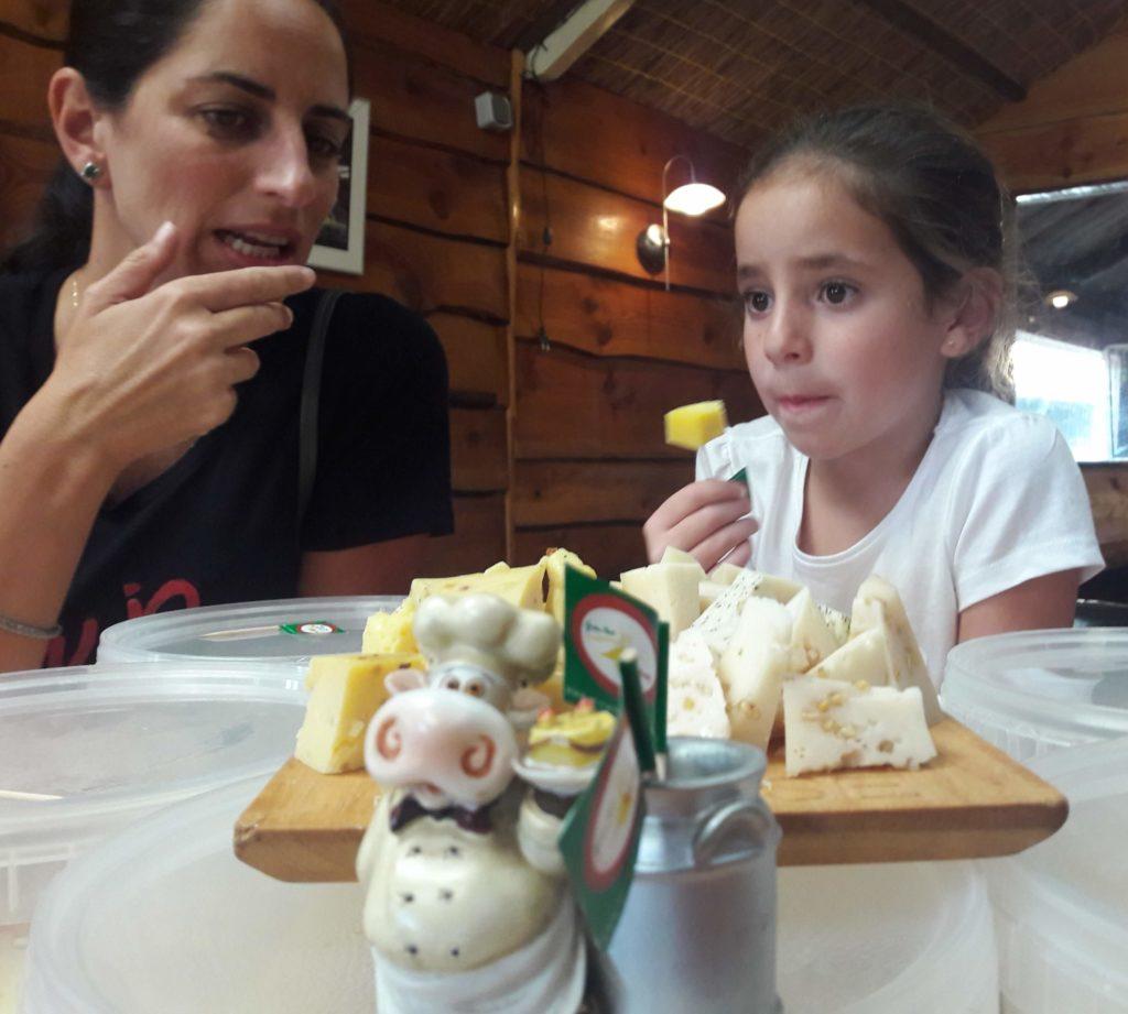 family cheese tasting kaas proeverij familie boerderij Verita's Visit