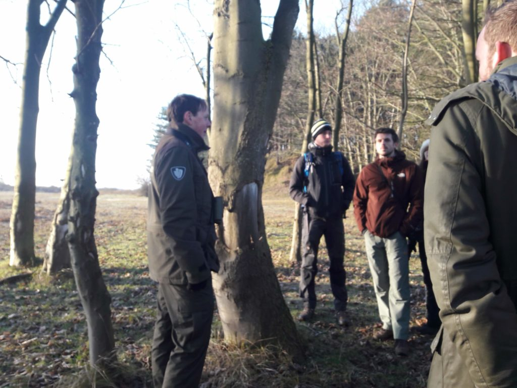 Park ranger tour Amsterdam dunes Verita's Visit