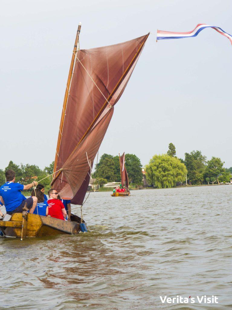 water activities Leiden bootrace Verita's Visit