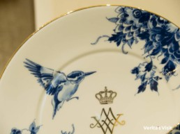 Dutch royalty & the kingfisher Delft blue Verita's Visit nature & culture tour