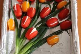 online workshop edible tulips Verita's Visit Holland
