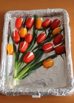 online workshop edible tulips Verita's Visit Holland